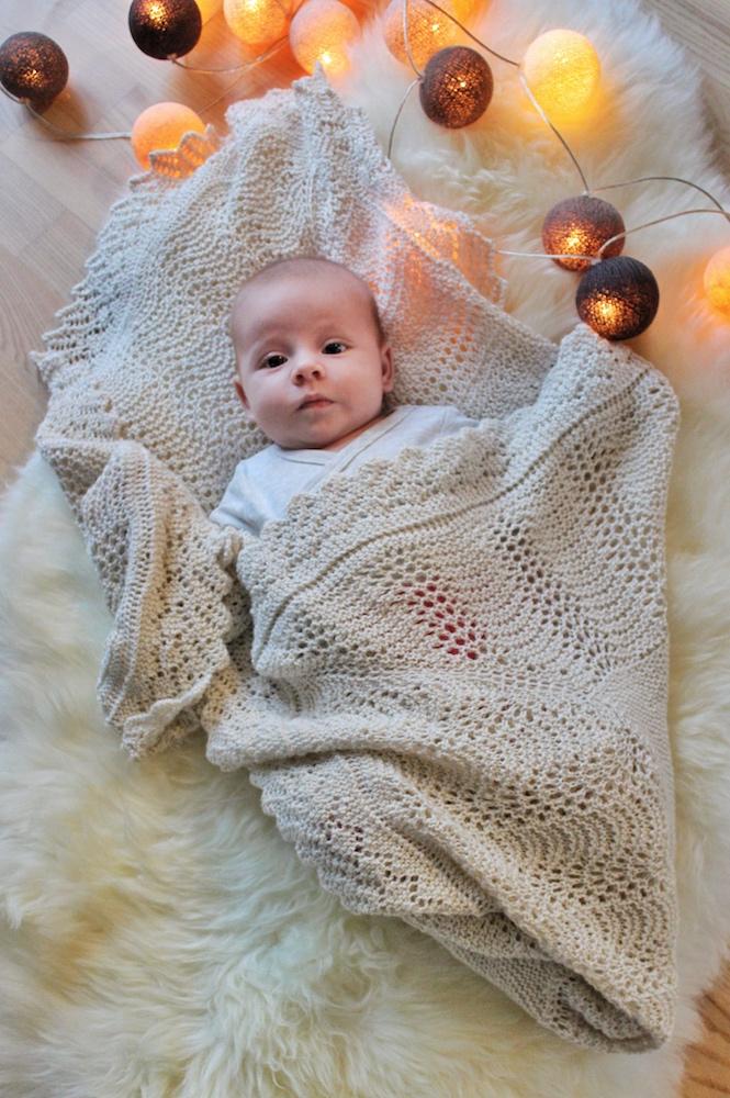 mary babytæppe