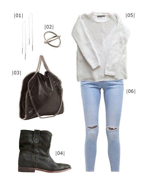 Inspiration til sommerstrik med styling - isabel marant, topshop, pernille corydon, stella mccartney - Knit Wit Company